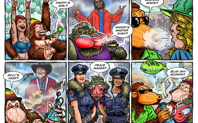 Omar and his pals, Todd & Langston, head out to the HIGH TIMES CANNABIS CUP in Denver to partake in a bit of serious sampling of the various strains of smoke that are abundantly available. As usual… what could possibly go wrong?